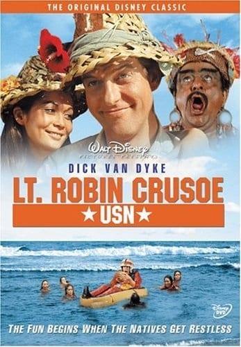 Lt. Robin Crusoe, U.S.N. (1966) starring Dick Van Dyke on DVD on DVD