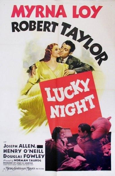 Lucky Night (1939) starring Myrna Loy on DVD on DVD