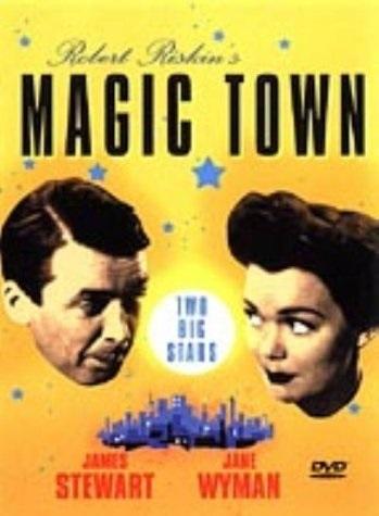 Magic Town (1947) starring James Stewart on DVD on DVD