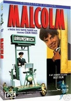 Malcolm (1986) starring Colin Friels on DVD on DVD