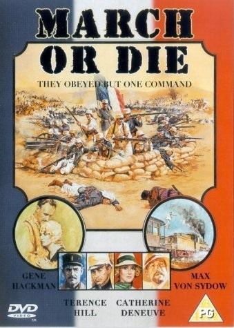March or Die (1977) starring Gene Hackman on DVD on DVD