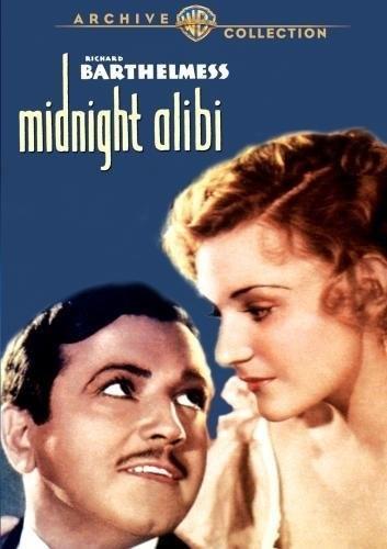 Midnight Alibi (1934) starring Richard Barthelmess on DVD on DVD