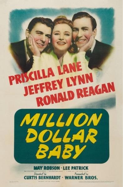 Million Dollar Baby (1941) starring Priscilla Lane on DVD on DVD