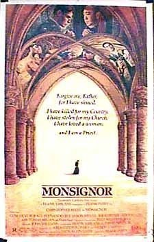 Monsignor (1982) starring Christopher Reeve on DVD on DVD