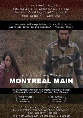 Montreal Main (1974) starring Frank Vitale on DVD on DVD