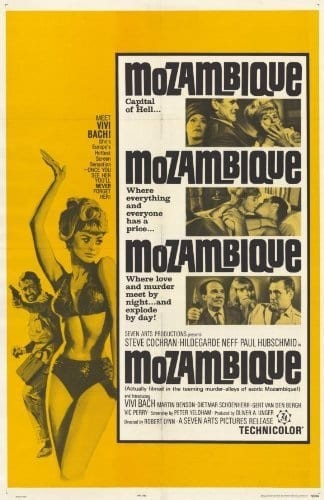 Mozambique (1964) starring Steve Cochran on DVD on DVD