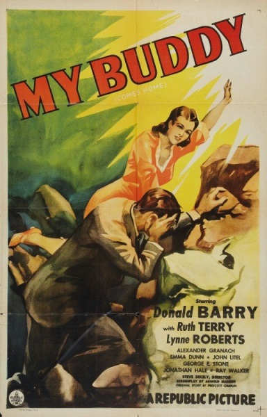 My Buddy (1944) starring Don 'Red' Barry on DVD on DVD