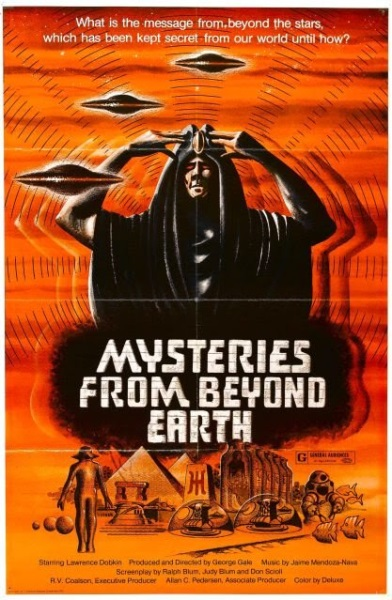 Mysteries from Beyond Earth (1975) starring Lawrence Dobkin on DVD on DVD