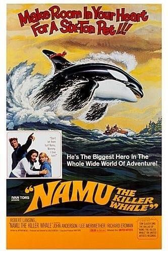 Namu, the Killer Whale (1966) starring Robert Lansing on DVD on DVD
