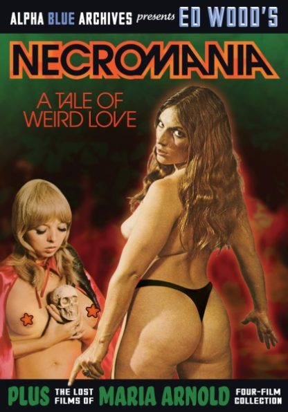'Necromania': A Tale of Weird Love! (1971) starring Maria Arnold on DVD on DVD
