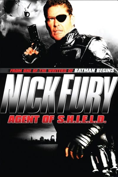 Nick Fury: Agent of Shield (1998) starring David Hasselhoff on DVD on DVD