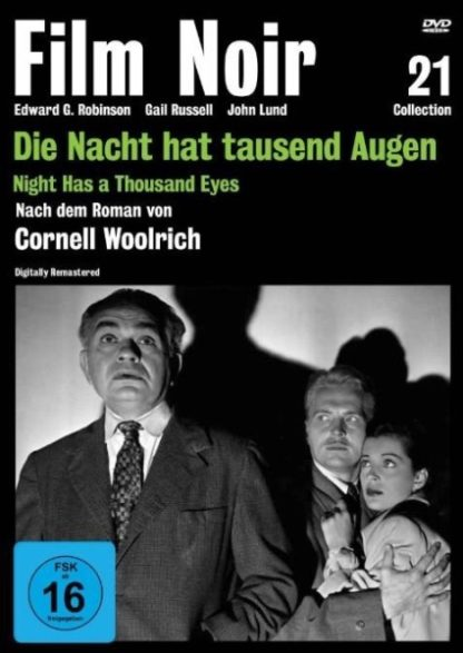Night Has a Thousand Eyes (1948) starring Edward G. Robinson on DVD on DVD