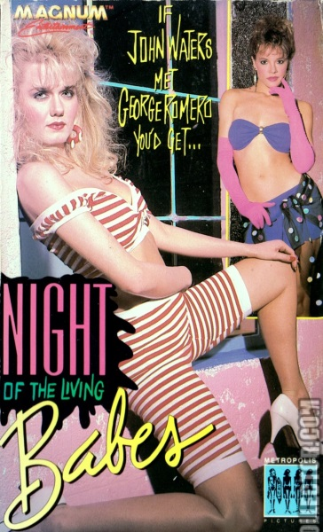 Night of the Living Babes (1987) starring Michelle Bauer on DVD on DVD