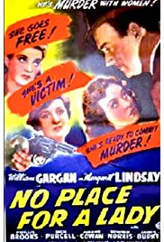 No Place for a Lady (1943) starring William Gargan on DVD on DVD