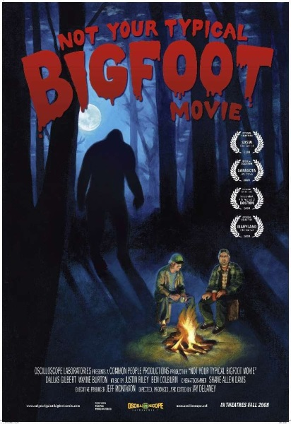 Not Your Typical Bigfoot Movie (2008) starring Dallas Gilbert on DVD on DVD