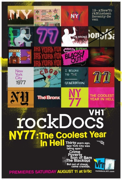 NY77: The Coolest Year in Hell (2007) starring Sal Abbatiello on DVD on DVD