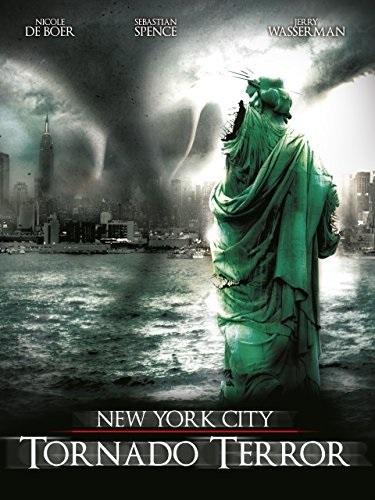 NYC: Tornado Terror (2008) starring Nicole de Boer on DVD on DVD