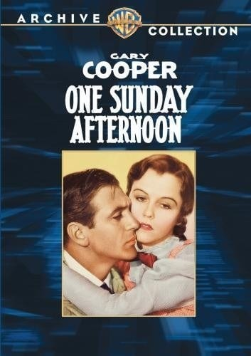 One Sunday Afternoon (1933) starring Gary Cooper on DVD on DVD