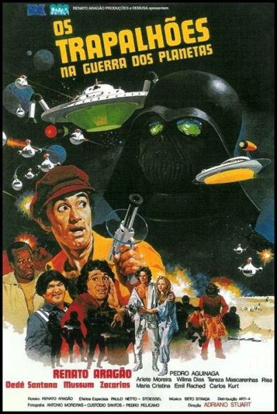 Os Trapalhões na Guerra dos Planetas (1978) with English Subtitles on DVD on DVD