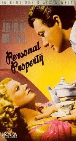 Personal Property (1937) starring Jean Harlow on DVD on DVD