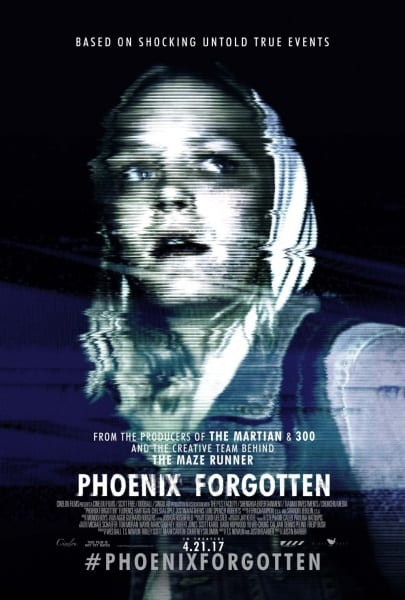 Phoenix Forgotten (2017) starring Florence Hartigan on DVD on DVD