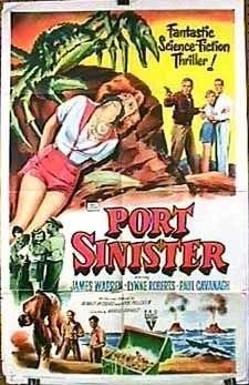 Port Sinister (1953) starring James Warren on DVD on DVD