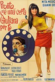 Pronto... c'è una certa Giuliana per te (1967) with English Subtitles on DVD on DVD