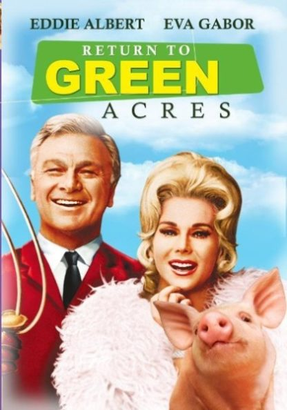 Return to Green Acres (1990) starring Eddie Albert on DVD on DVD
