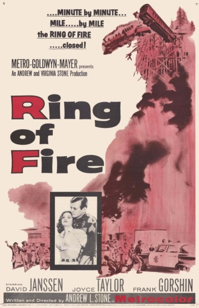 Ring of Fire (1961) starring David Janssen on DVD on DVD