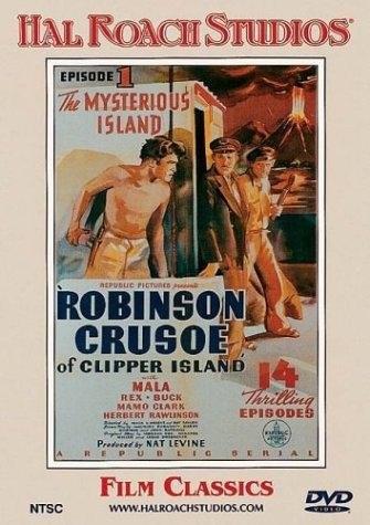 Robinson Crusoe of Clipper Island (1936) starring Mala on DVD on DVD
