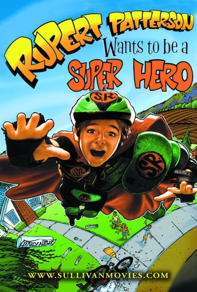 Rupert Patterson Wants to be a Super Hero (1997) starring Sean Campbell on DVD on DVD