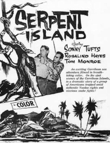 Serpent Island (1954) starring Sonny Tufts on DVD on DVD
