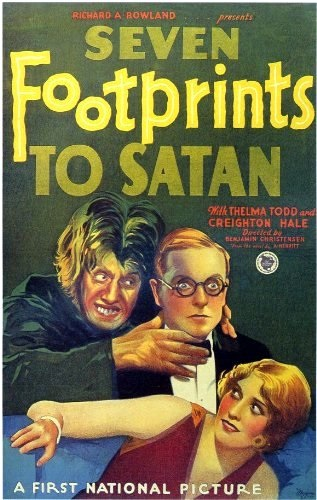 Seven Footprints to Satan (1929) starring Thelma Todd on DVD on DVD