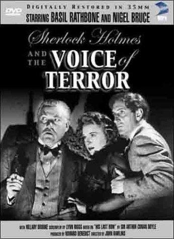 Sherlock Holmes and the Voice of Terror (1942) starring Basil Rathbone on DVD on DVD