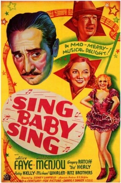 Sing, Baby, Sing (1936) starring Alice Faye on DVD on DVD