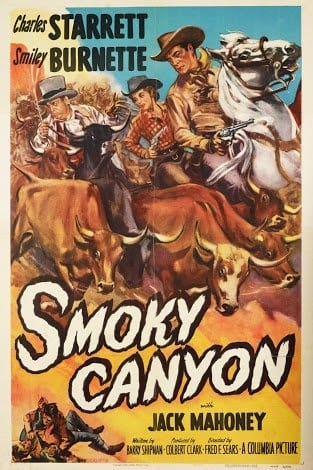 Smoky Canyon (1952) starring Charles Starrett on DVD on DVD