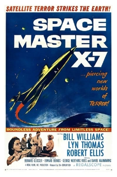 Space Master X-7 (1958) starring Bill Williams on DVD on DVD