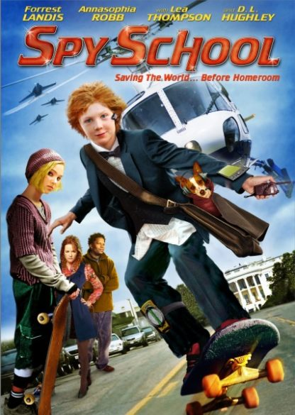 Spy School (2008) starring Forrest Landis on DVD on DVD