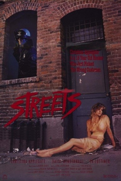 Streets (1990) starring Christina Applegate on DVD on DVD