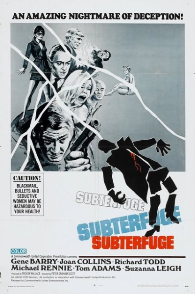 Subterfuge (1968) starring Gene Barry on DVD on DVD