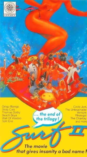 Surf II (1984) starring Eddie Deezen on DVD on DVD