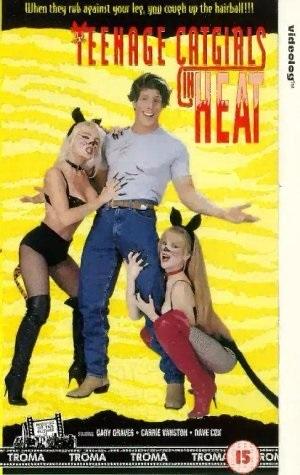 Teenage Catgirls in Heat (1994) starring Esmeralda Huffhines on DVD on DVD