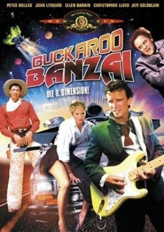 The Adventures of Buckaroo Banzai Across the 8th Dimension (1984) starring Peter Weller on DVD on DVD
