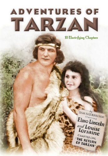 The Adventures of Tarzan (1921) starring Elmo Lincoln on DVD
