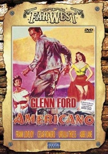 The Americano (1955) starring Glenn Ford on DVD