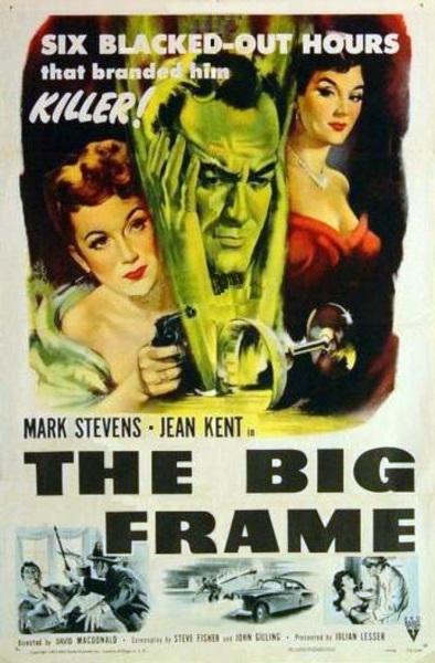 The Big Frame (1952) starring Mark Stevens on DVD on DVD