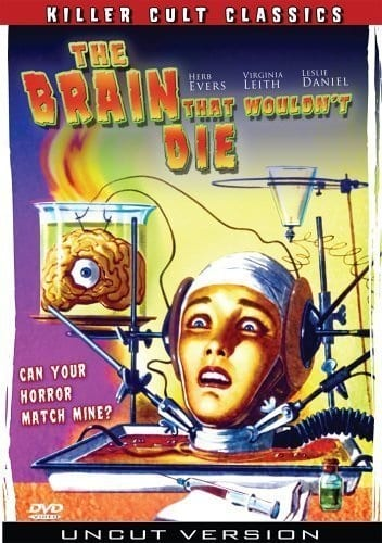 The Brain That Wouldn't Die (1962) starring Jason Evers on DVD on DVD