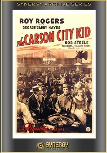 The Carson City Kid (1940) starring Roy Rogers on DVD on DVD