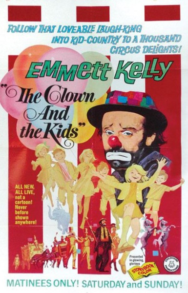 The Clown and the Kids (1967) starring Emmett Kelly on DVD on DVD