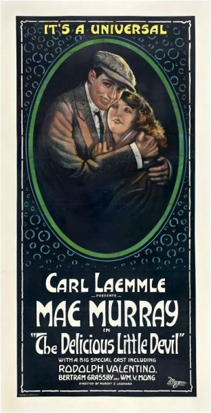 The Delicious Little Devil (1919) starring Mae Murray on DVD on DVD